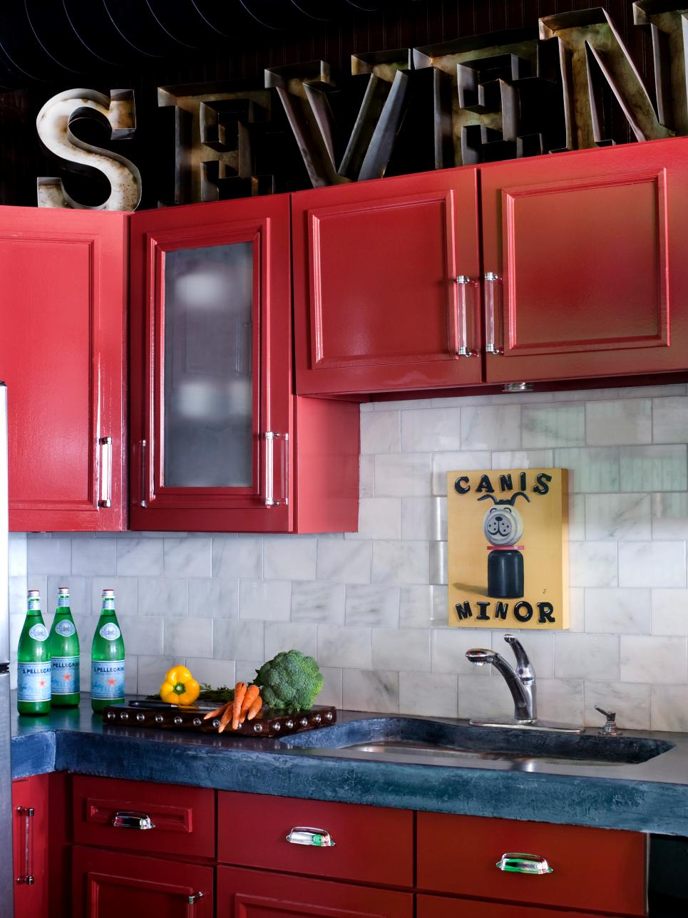 Options for cabinet kitchen remodel htv magazine a colorful kitchen remodel project solutioingenieria Choice Image