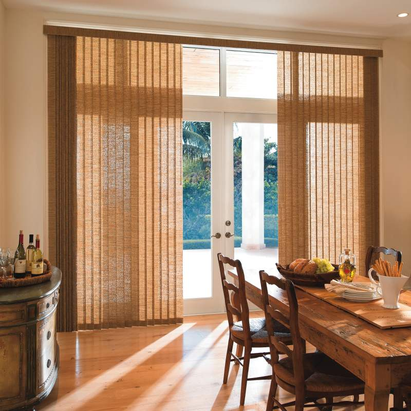 Window blinds can provide light and privacy